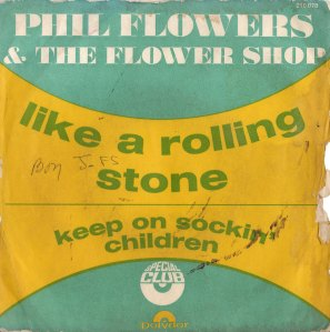 phil flowers flower shop like a rolling stone front cover 1